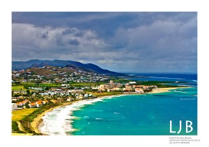 While in St. Kitts, we visited this lookout point with just the most beautiful spectacular views. I was in awe!