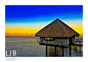 I recall when I first saw overwater bungalows in a travel magazine when I was in college. I was so fascinated and in love with the idea. I dreamt of the day I would get to stay in one of these. That dream came true, thanks to my visit to Tahiti, French Polynesia. If I attended to explain the feeling and the beauty I experienced, I'd be writing for some time...