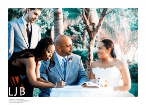 """One of my best friends, Myriam, or """"Mimmers"""" as I affectionately call her, married her love Pete in a beautiful ceremony in Negril, Jamaica. I was so honored and pleased to be able to capture this special day for them! :)"""