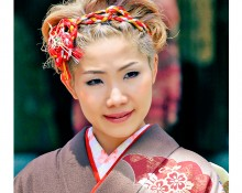 At Harajuku Park in Tokyo, Japan, I observed this young lady in her stunning traditional garb and approached for a picture. Arigato for letting me capture your beauty :)!