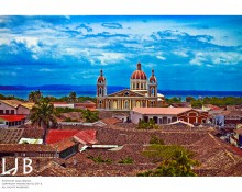 While in Granada, Nicaragua, be sure to pay the $1 fee to climb to the top of the La Merced Church for the best views of the city!